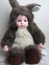 """Anne Geddes11"""" Sitting Baby Squirrel Doll"""