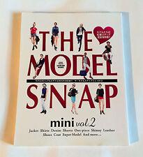 THE MODEL SNAP mini vol.2 JAPAN PHOTO BOOK 2013 Fashion Style Shirts Denim Shoes
