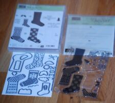 NEW Stampin' Up ~Hang Your Stockings~ Stamp Set w/ Christmas Stockings Thinlits