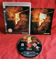 Resident Evil 5 (Sony PlayStation 3, 2009) FULLY tested with manual