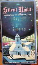 Silent Night: The Story of the Christmas Carol (VHS) Rare vintage 3 Xmas shorts