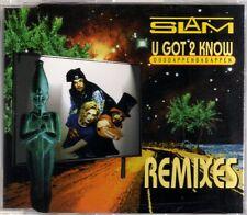 Slam - U Got 2 Know (Doodappenbadappen) (Remixes) - CDM - 1995 - Eurodance 8TR