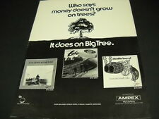 ALEX BEVAN Dave and Ansell Collins LOBO 1971 Proo Poster Ad