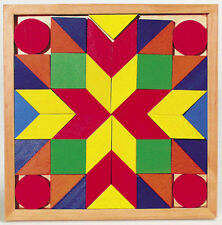 Mosaik Holz Legler 1038 Holzpuzzle Legepuzzle Rahmenpuzzle