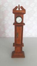 Dolls House Grandfather Clock 1:12 Wood  Gc
