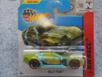 Hot Wheels 2014 #171/250 BULLET PROOF VERDE HW CARRERA