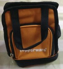 Tupperware Lunch Bag- Orange with Black-Insulated