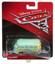 DISNEY PIXAR CARS 3 Camper Van Fillmore Veicolo Die Cast 1:55 - Mattel FJH96