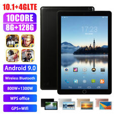 """10.1"""" inch WIFI 4G-LTE HD Tablet Android 8.0 Pad 8+512GB SIM GPS Dual Camera"""