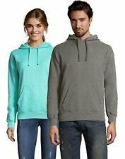 Fleece Hoodie Sweatshirt Hanes Adult ComfortWash Garment Dyed Mens Womens Cotton