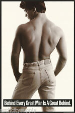 POSTER - SEXY MALE MODEL - BEHIND EVERY GREAT   - FREE SHIPPING! #9001  RBW4 E