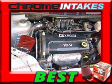 K&N+BLACK RED 04 05-08 CHEVY AVEO/AVEO5 5 BASE/LS/LT 1.6 1.6L I4 AIR INTAKE KIT