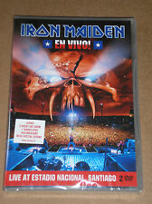 IRON MAIDEN - EN VIVO - 2 DVD SIGILLATO (SEALED)