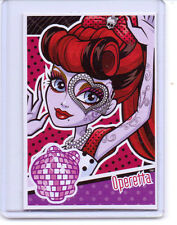 Mattel Genuine Monster High Goth Doll Operetta 2012 Trading Card