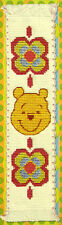 Winnie The Pooh - Semco Counted Cross-stitch Bookmark Kit