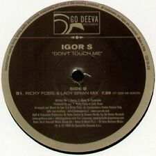 IGOR S - Don't Touch Me (Original, Ricky Fobis & Lady Brian Mix) - Go Deeva