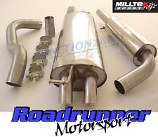 GOLF MK4 GTI 1.8 TURBO MILLTEK EXHAUST 2004 CAT BACK RESONATED DISCRETE SSXVW056