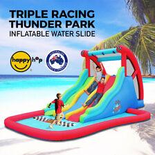 Water slides for sale ebay for Happy hop inflatable water slide