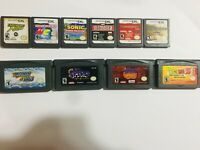 Nintendo DS DSI 3DS and GBA Game Boy Advance SP Game Lot Choose DBZ COD NFS