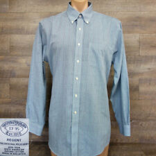 Brooks Brothers REGENT Fit Men's Button Down Shirt Size 17-35 Long Sleeve