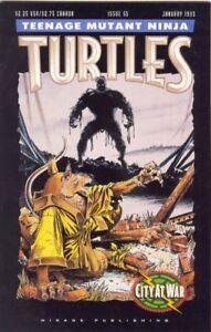 TMNT Teenage Mutant Ninja Turtles Mirage Comic #55 City at War NM- HTF
