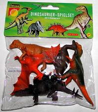 5er Set Dinos Dino Dinosaurier Spielzeug Figuren Geschenkset NEU