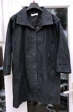WHISTLES NAVY BLUE JACKET MAC COAT UK 14