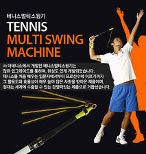 Pro Tennis swing machine Training Tool Technic Speed Power impact Point Racket