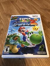 Mario Galaxy 2 Nintendo Wii Cib Game Tested Works - CT1