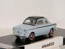 NSU - FIAT Weinsberg 500 Light Blue 1960 PremiumX 1/43 Ref 0020