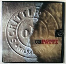"SCRITTI POLITTI avec MILES DAVIS/oh patti!/12"" LTD Poster Bag/1988 Scellé"