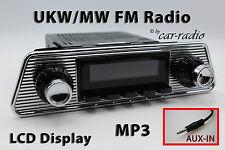 Retrosound Laguna Komplettset Trapez Oldtimer Radio MP3 AUX-IN L-306U-B-098-004