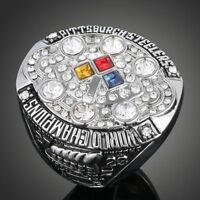 Men's Sport Ring 2008 Pittsburgh Steelers Championship Ring Sport Fans Gift