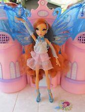 Winx Club Bloom Pixie Enchantix Doll MATTEL RARE