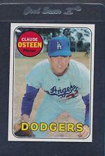 1969 Topps #528 Claude Osteen Dodgers NM/MT *7445