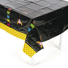 "TOTALLY 80's ATARI Plastic Cover Tablecloth BIRTHDAY PARTY decorations 54"" x 9ft"
