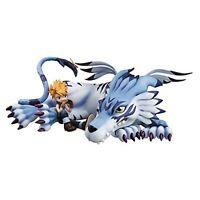 Megahouse G.E.M. Series Digimon Adventure Garurumon & Ishida Yamato PVC Figure