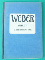 WEBER Oberon Klavier Auszug mit Text König der Elfen Klavierauszug B16897
