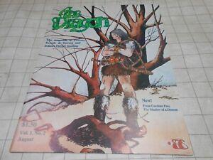 TSR AD&D Dungeons & Dragon Magazine #2 1976 RARE!