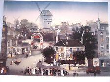 MICHEL DELACROIX Paris Post Card MARIAGE A MONTMARTE