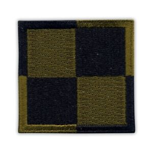 """Polish Air Force checkerboard 2"""" SUBDUED Embroidered PATCH/BADGE"""