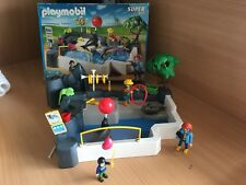 Playmobil Zoo Seal Pool Super Set 3135 100% Complete Boxed
