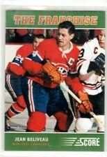 JEAN BELIVEAU 2012-13 Score Franchise Original Six Insert #OS4 Montreal Canadien