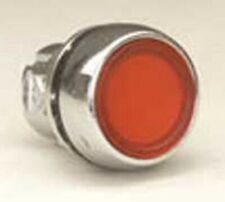 Sprecher+Schuh ILLUMINATED MOMENTARY FLUSH PUSHBUTTON Metal, Panel Mount, Red