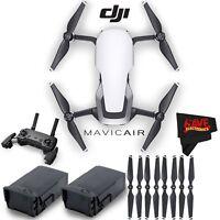 DJI Mavic Air Quadcopter (Arctic White) + Extra Propellers Bundle