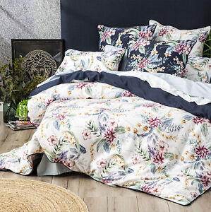 Renee Taylor 300 TC Cotton Printed Quilt cover Set Veronica