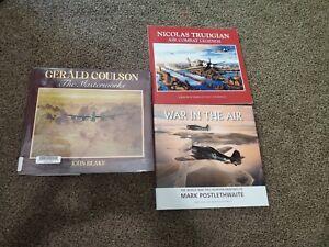 Aviation Art Book Lot