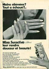 Publicité ancienne crème pour les mains MIXA 1970