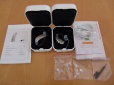 2 RECHARGEABLE MINI DIGITAL HEARING AID RIC SMART PROGRAMS ,NOISE REDUCTION