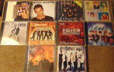 Lot of 10 Assorted Pop Rock / Dance Pop Cds - 98° Backstreet Boys Nsync +